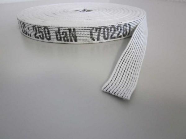Bindegurt weiß, mit farbigen Streifen Nr. 70226