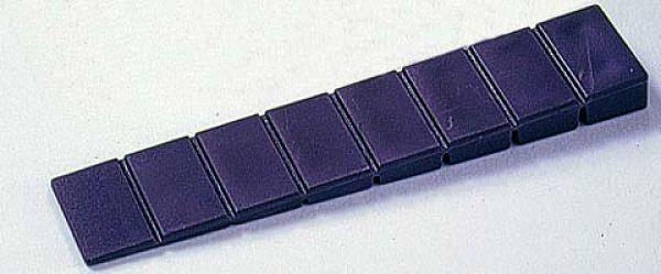 7-fach eingesägte Plastikkeile